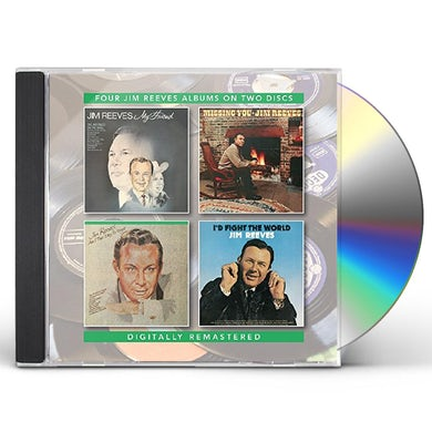 Jim Reeves MY FRIEND / MISSING YOU / AM I THAT EASY TO FORGET CD