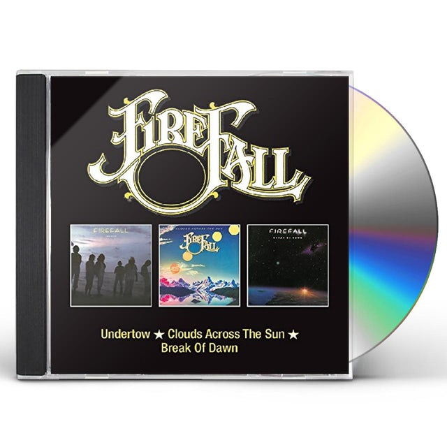 Firefall UNDERTOW / CLOUDS ACROSS THE SUN / BREAK OF DAWN CD