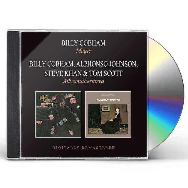 Billy Cobham MAGIC / ALIVEMUTHERFORYA CD