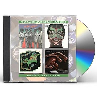 Ramsey Lewis DON'T IT FEEL GOOD / SALONGO / TEQUILA CD
