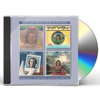 Gary Wright DREAM WEAVER / LIGHT OF SMILES / TOUCH & GONE CD