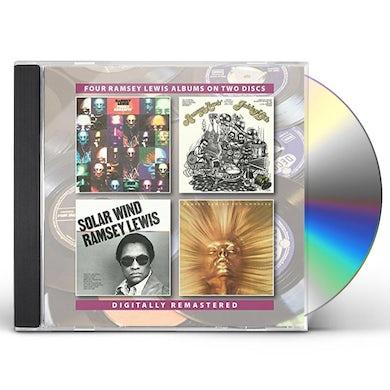 Ramsey Lewis FUNKY SERENITY / GOLDEN HITS / SOLAR WIND / SUN CD