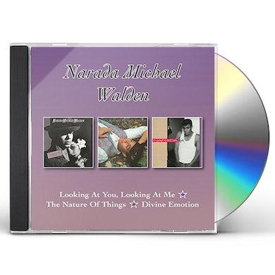 Narada Michael Walden LOOKING AT YOU LOOKING AT ME / NATURE OF THINGS CD