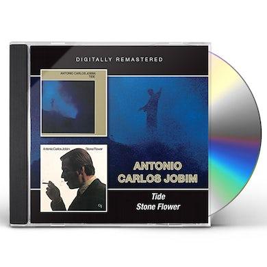 Antonio Carlos Jobim TIDE / STONE FLOWER CD