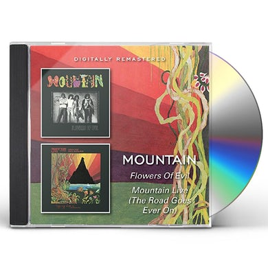 FLOWERS OF EVIL / MOUNTAIN LIVE CD