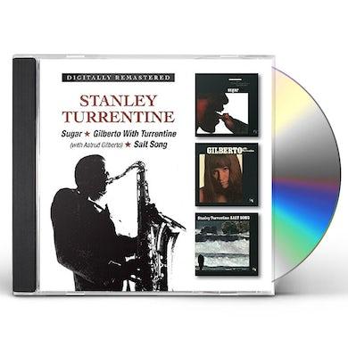 Stanley Turrentine SUGAR / GILBERTO WITH TURRENTINE / SALT SONG CD