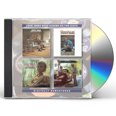 JERRY REED EXPLORES GUITAR COUNTRY / COOKIN CD
