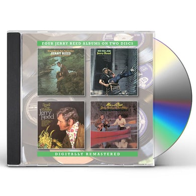 Jerry Reed WHEN YOU'RE HOT YOU'RE HOT / KO-KO JOE / SMELL THE CD