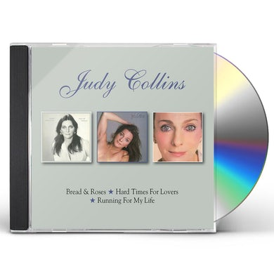 Judy Collins BREAD & ROSES / HARD TIMES FOR LOVERS / RUNNING CD