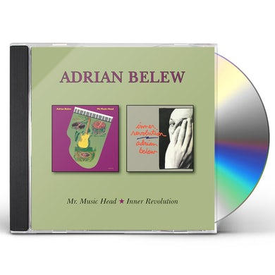 Adrian Belew MR MUSIC HEAD / INNER REVOLUTION CD