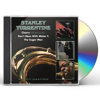 Stanley Turrentine CHERRY / DON'T MESS WITH MISTER T / SUGAR MAN CD