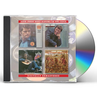 JERRY REED / HOT A MIGHTY / LORD MR FORD / UPTOWN CD