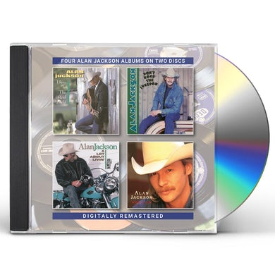 Alan Jackson HERE IN THE REAL WORLD / DON'T ROCK THE JUKEBOX CD