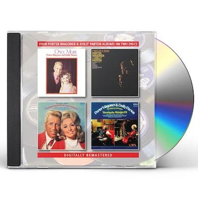 Porter Wagoner ONCE MORE / TWO OF A KIND / TOGETHER ALWAYS CD