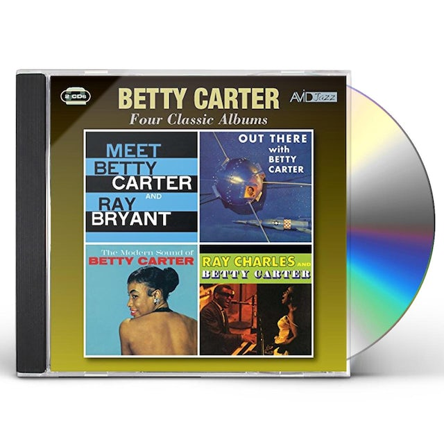 Betty Carter 4 LPS-MEET BETTY & RAY BRYANT / OUT THERE / MODERN CD
