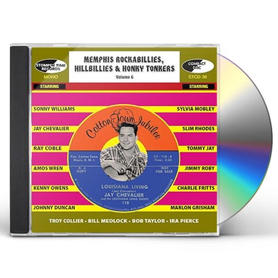 MEMPHIS ROCKABILLIES HILLBILLIES & HONKY 6 / VAR CD
