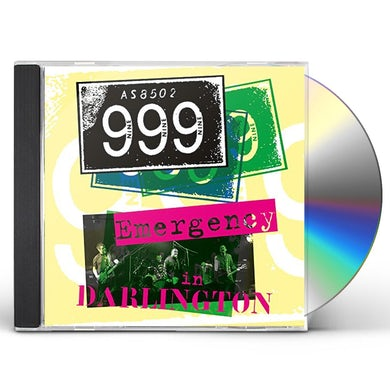 999 EMERGENCY IN DARLINGTON CD