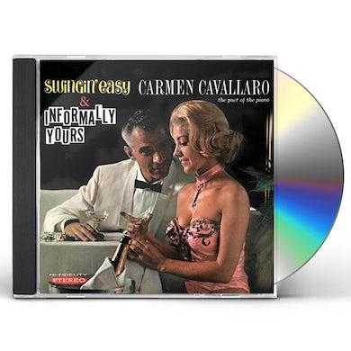 Carmen Cavallaro SWINGING EASY / INFORMALLY YOURS CD