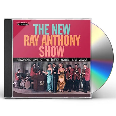 NEW RAY ANTHONY SHOW CD