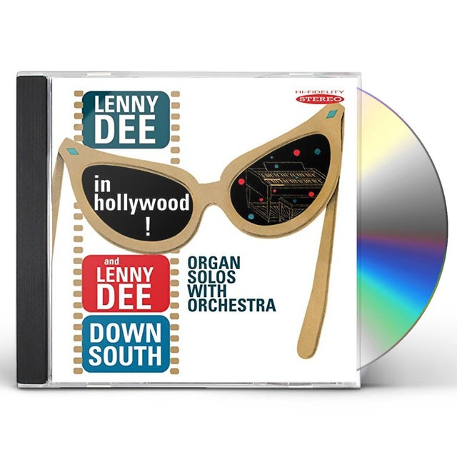 Lenny Dee IN HOLLYWOOD / LENNY DEE DOWN SOUTH CD