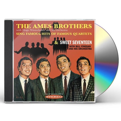 SING FAMOUS HITS OF FAMOUS QUARTETS CD