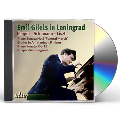 Emil Gilels IN LENINGRAD CD