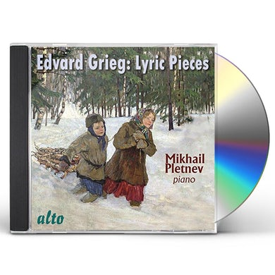 Mikhail Pletnev GRIEG: LYRIC PIECES CD