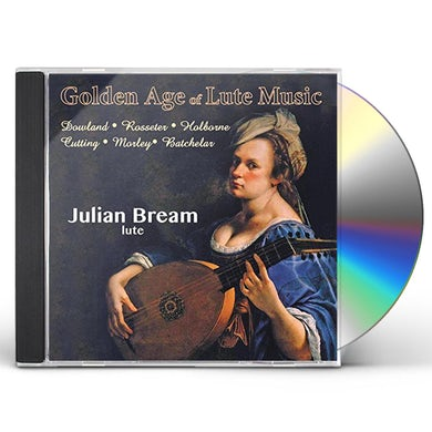 Julian Bream LUTE MUSIC - THE GOLDEN AGE CD