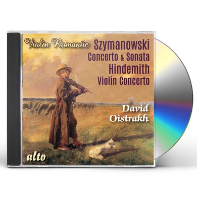 David Oistrakh SZYMONOWSKI: VN CON VN SON / HINDEMITH: VN CON CD