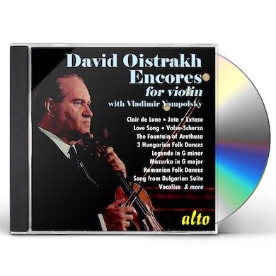 DAVID OISTRAKH: ENCORES CD