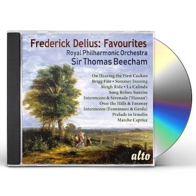 Sir Thomas Beecham FREDERICK DELIUS: 11 FAVOURITES CD