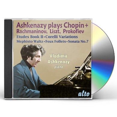 Vladimir Ashkenazy ASHKENAZY PLAYS CHOPIN RACHMANINOV LISZT & CD