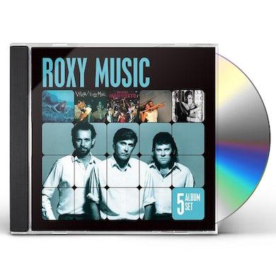 Roxy Music 5 ALBUM SET CD