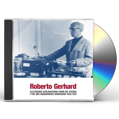 ELECTRONIC EXPLORATIONS FROM HIS STUDIO + THE BBC CD