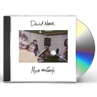 David Nance MORE THAN ENOUGH CD