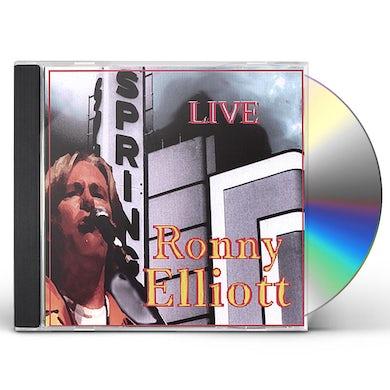 Ronny Elliott LIVE CD