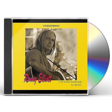 Ronny Elliott I'VE BEEN MEANING TO WRITE CD