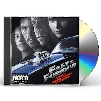 FAST & FURIOUS / O.S.T. FAST & FURIOUS (2009) / Original Soundtrack CD