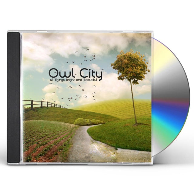 Owl City ALL THINGS BRIGHT & BEAUTIFUL CD