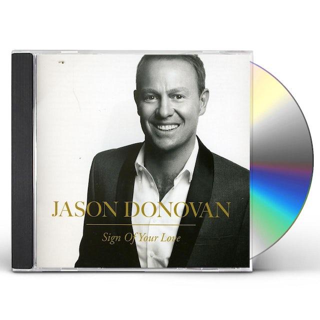 Jason Donovan SIGN OF YOUR LOVE CD