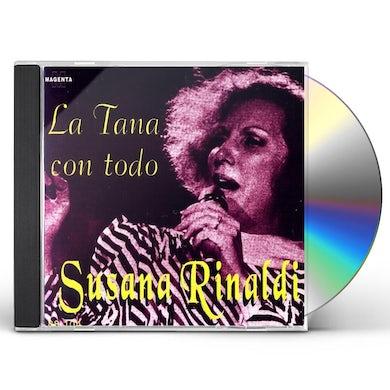 Susana Rinaldi TANA CON TODO CD