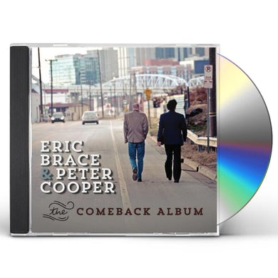 Eric Brace COMEBACK ALBUM CD