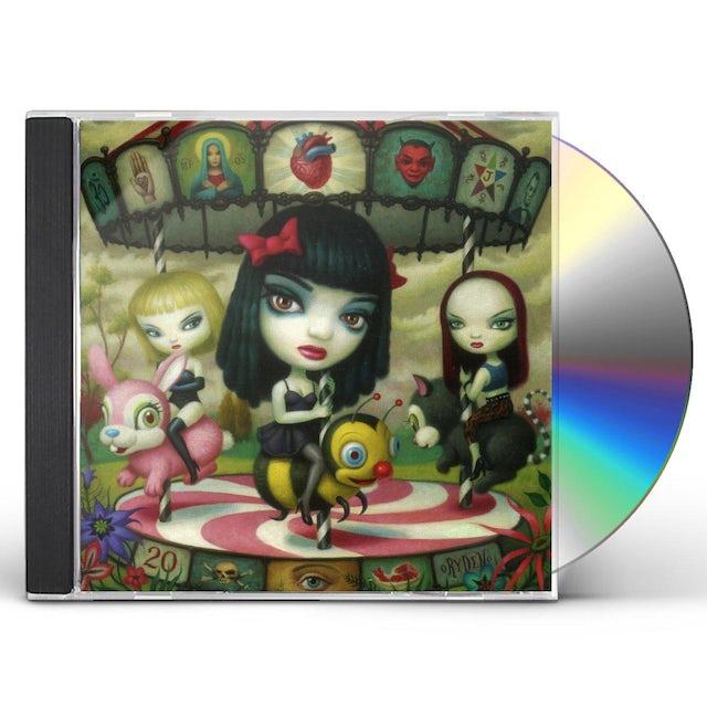 Jack Off Jill CLEAR HEARTS GREY FLOWERS CD