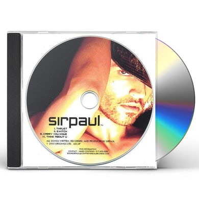 THRUST EP SIRPAUL CD