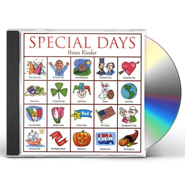 Brian Kinder SPECIAL DAYS CD