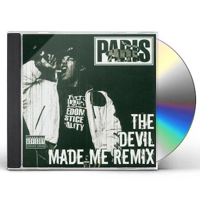 Paris DEVIL MADE ME REMIX CD