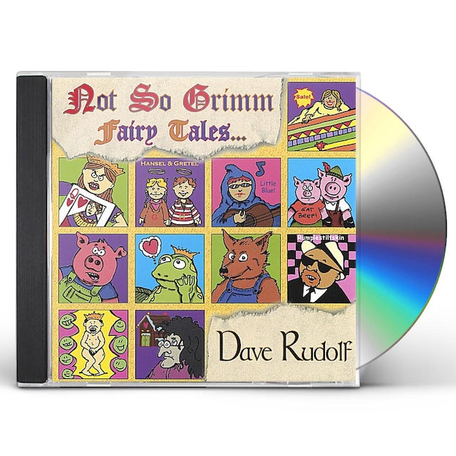 Dave Rudolf NOT SO GRIMM FAIRY TALES CD