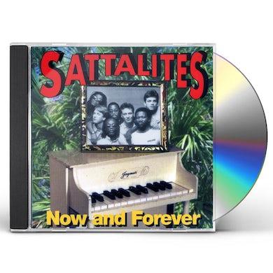 Sattalites NOW & FOREVER CD