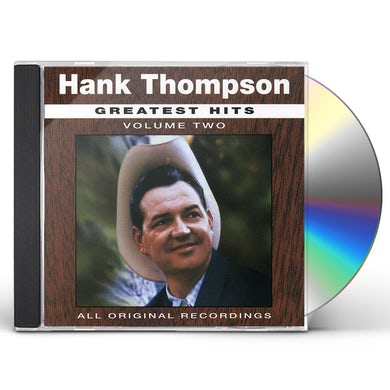 Hank Thompson GREATEST HITS 2 CD