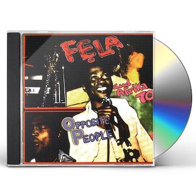 Fela Kuti OPPOSITE PEOPLE & SORROW TEARS & BLOOD CD